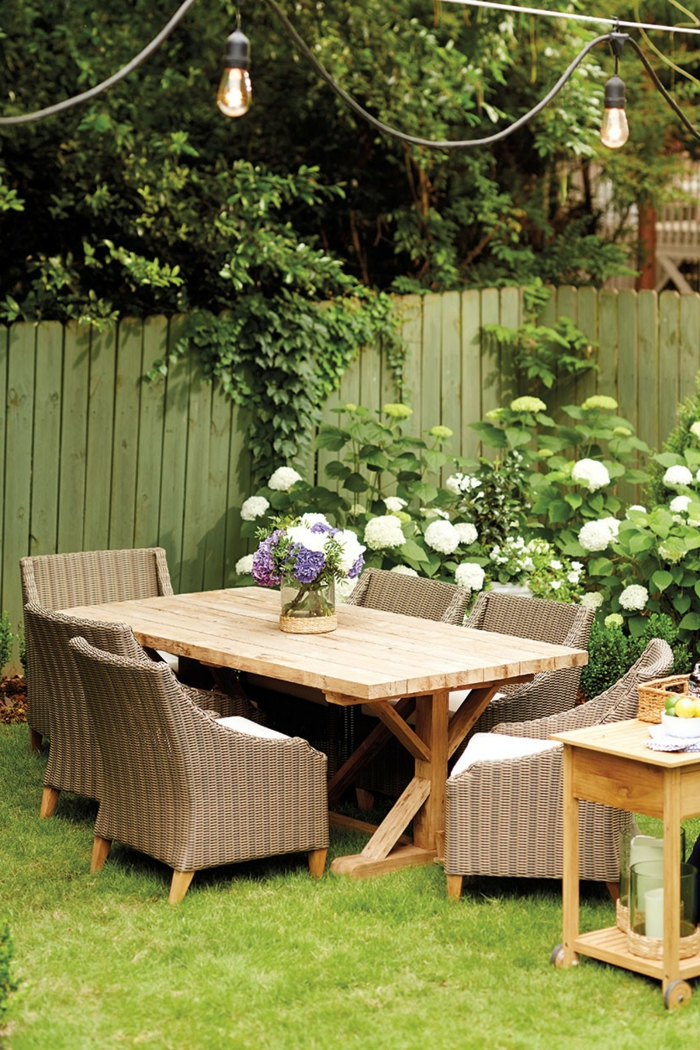 Gartentisch Design Interessante Ideen Fur Schone Gartengestaltung,  Terrassen Ideen