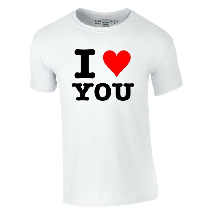 geschenk zum valentinstag romantische geschenkideen t-shirt