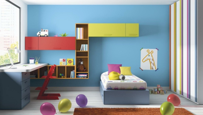 gestaltung kinderzimmer ber das kinderzimmer mit etwas. Black Bedroom Furniture Sets. Home Design Ideas
