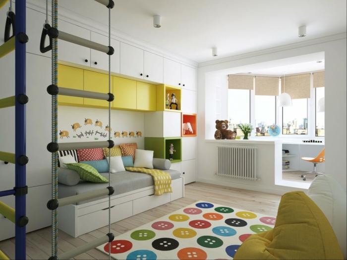gestaltung kinderzimmer - Über das kinderzimmer mit etwas mehr, Wohnideen design