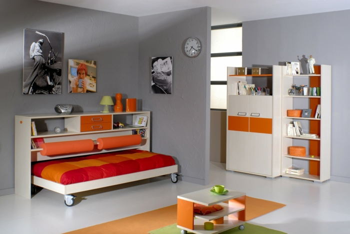 gestaltung von kinderzimmer verschiedene. Black Bedroom Furniture Sets. Home Design Ideas