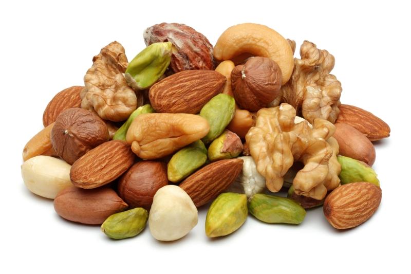 gute Proteinquellen pflanzliches Eiweiß Nüsse samen