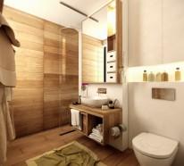 63 Wandpaneele aus Holz, die den Raum ganz individuell erscheinen lassen