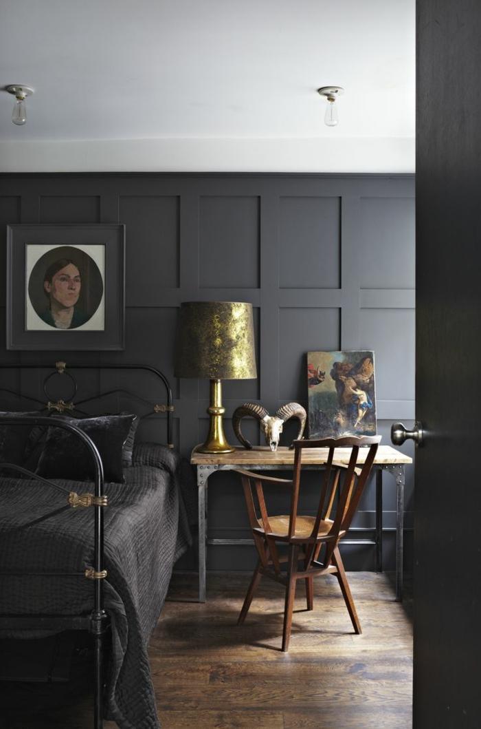Wandpaneele Holz Schlafzimmer ~ 63 Wandpaneele aus Holz, die den Raum ganz individuell erscheinen