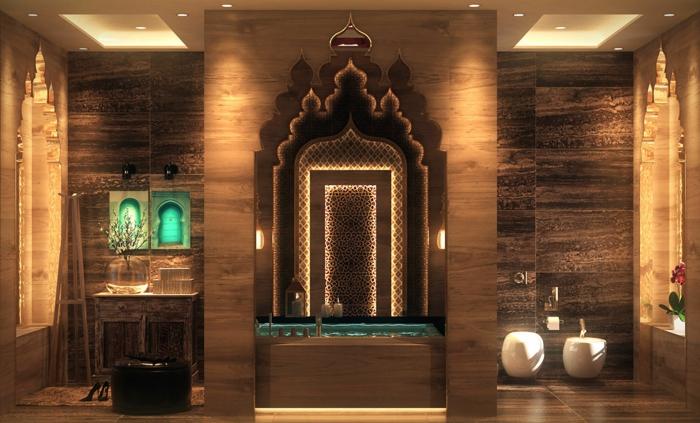 indirektes Licht ikea beleuchtung decke dunkeles interior wandgestaltung bad
