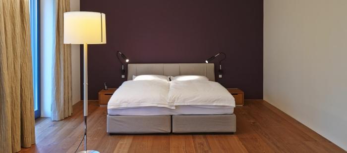 ikea beleuchtung decke dunkeles interior wandgestaltung schlafen