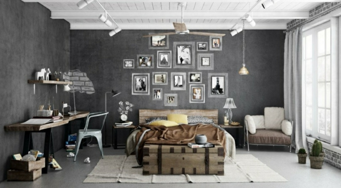 Vintage wohnideen  111 Einrichtungsbeispiele für individuelle und stilvolle ...