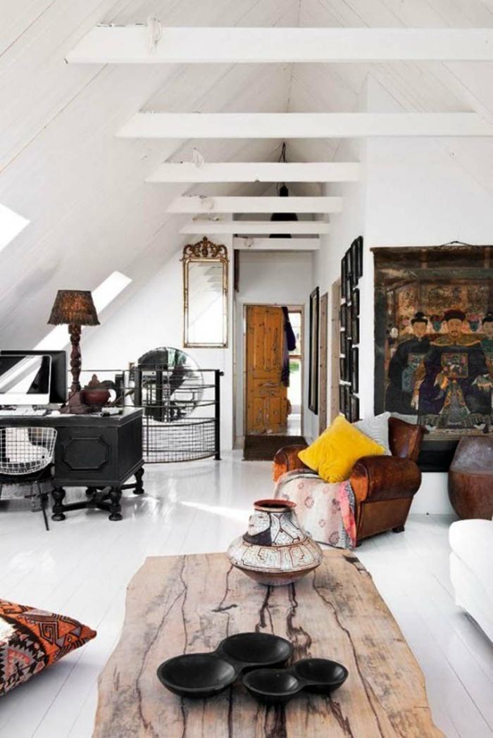 einrichtungsbeispiele raumgestaltung inneneinrichter wohnideen skandinavischer einrichtung ideen dachboden