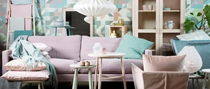 inneneinrichter wohnideen skandinavischer einrichtung ideen wohnzimmer pastellfarben