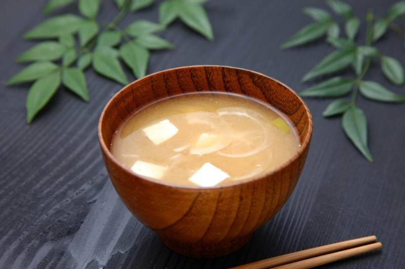 ist veganeErnährung gesund Miso Suppe