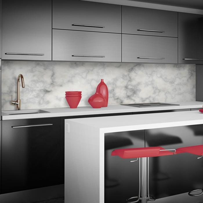 küchenrückwand gestalten – akzente mit metal-fliesen - 2014-11-05, Kuchen dekoo