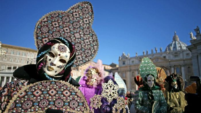 karneval in venedig karnevalkostüme faschingskostüm frauen weiberfastnacht kopfschmuck masken