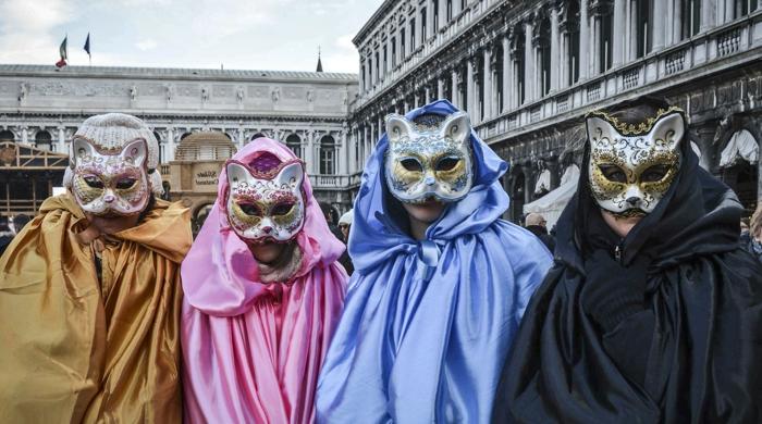 karneval in venedig katzenmasken faschingskostüm karnevalkostüme weiberfastnacht