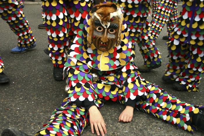 karneval kostüme karnevalskostüm  logo koeln klowns narren kostüme karneval umzug bunter vogel