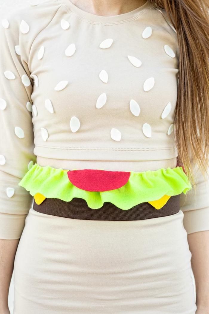 karnevalskostüme diy ideen hamburger frauen kostüme kleid selber nähen