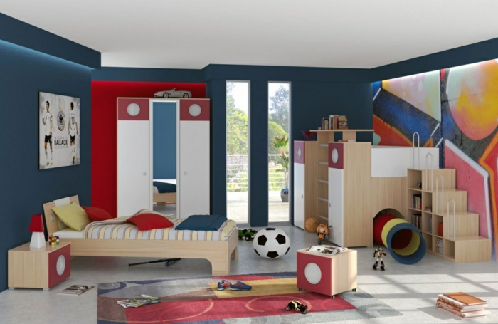 44 beispiele die das kinderzimmer gestalten kinderleicht machen. Black Bedroom Furniture Sets. Home Design Ideas
