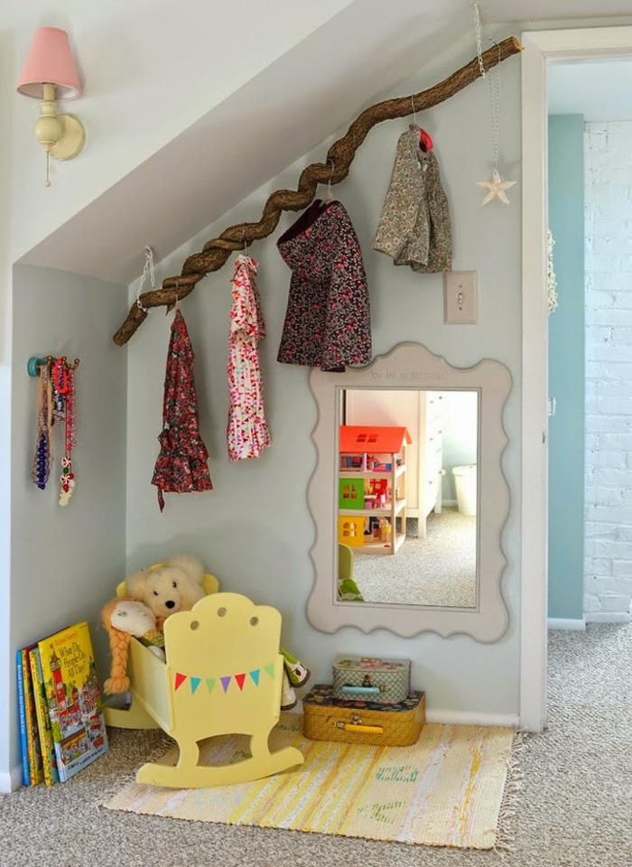 Kinderzimmer ideen dachschräge  Dekor Dachschräge Kinderzimmer