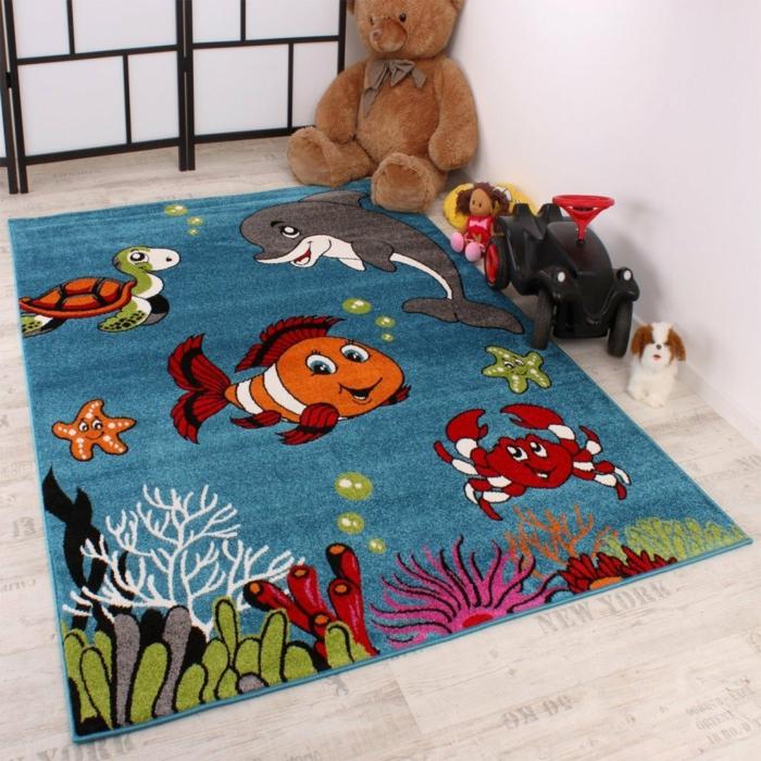 kinderzimmerteppich clown fish nemo phc