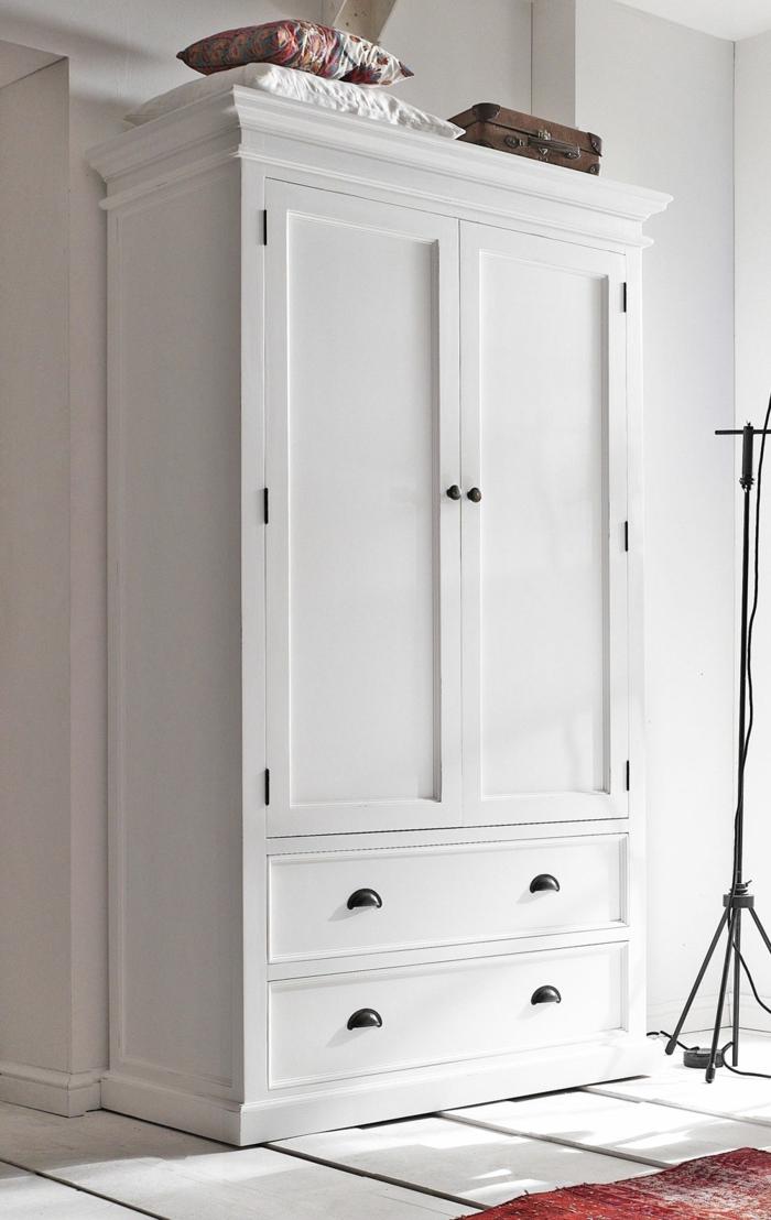 Kleiderschrank Weiß Schubladen | Abodyissue