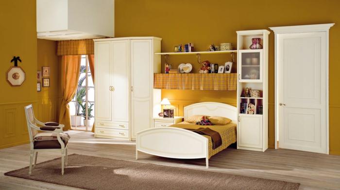 wei er kleiderschrank sorgt f r eine raffinierte zimmererscheinung. Black Bedroom Furniture Sets. Home Design Ideas