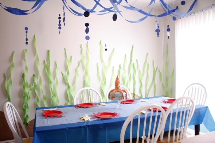 kreative bastelideen party dekoideen papierdeko basteln