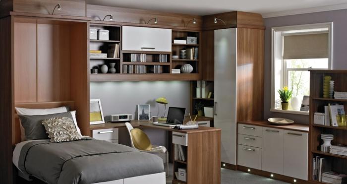 Wohnideen Büro Und Gästezimmer einrichtungsideen kleine räume 2 zimmer in 1
