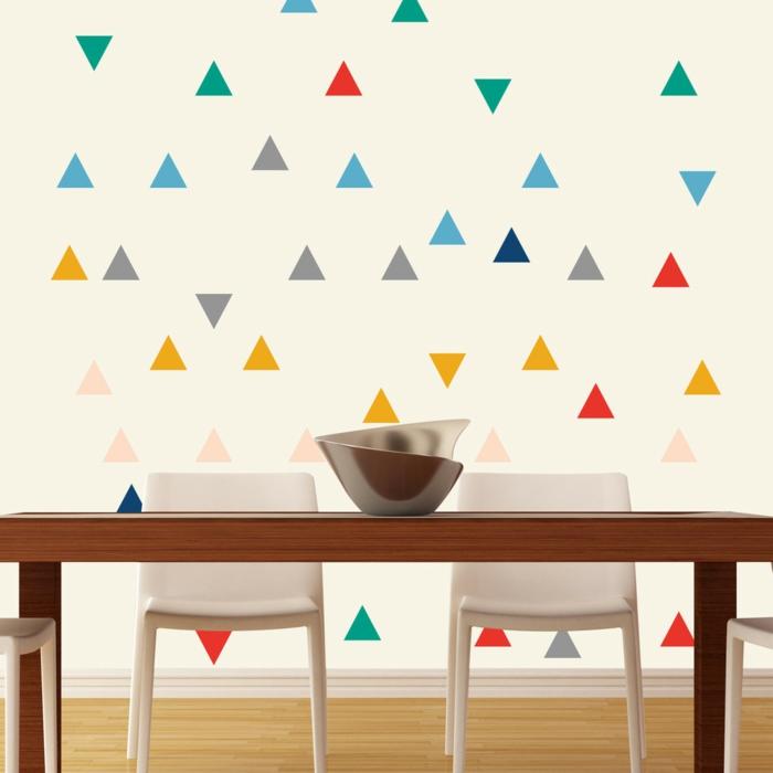 77 mustervorlagen f r eine kreative wandgestaltung for Farbmuster wandgestaltung