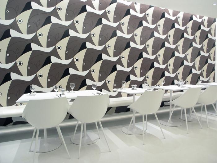 kreative wandgestaltung wandgestaltung farbgestaltung dreiecke vierecke rechteecke mobiliar