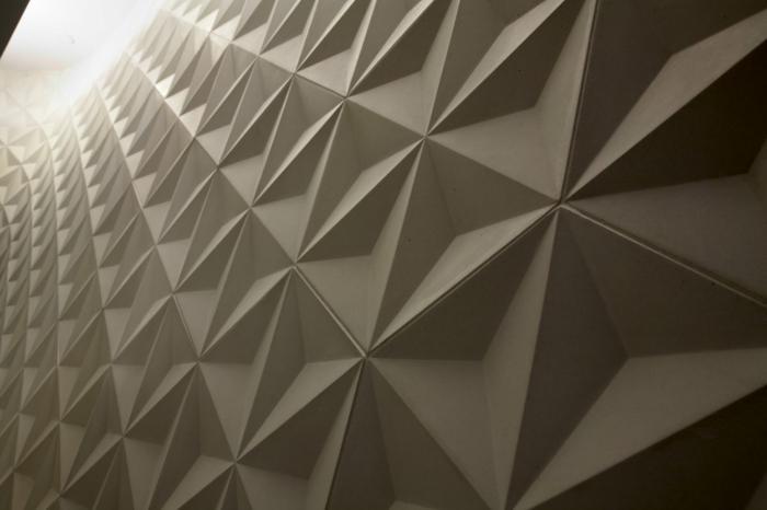 kreative wandgestaltung wandgestaltung farbgestaltung rigips 3D