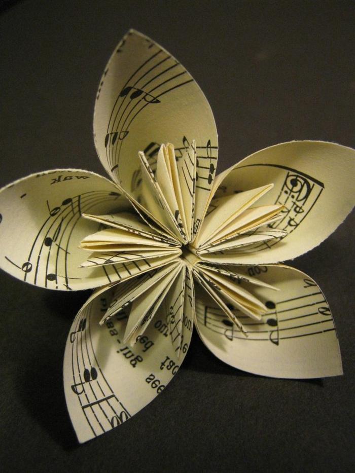 kreatives basteln papierblumen basteln dekoideen