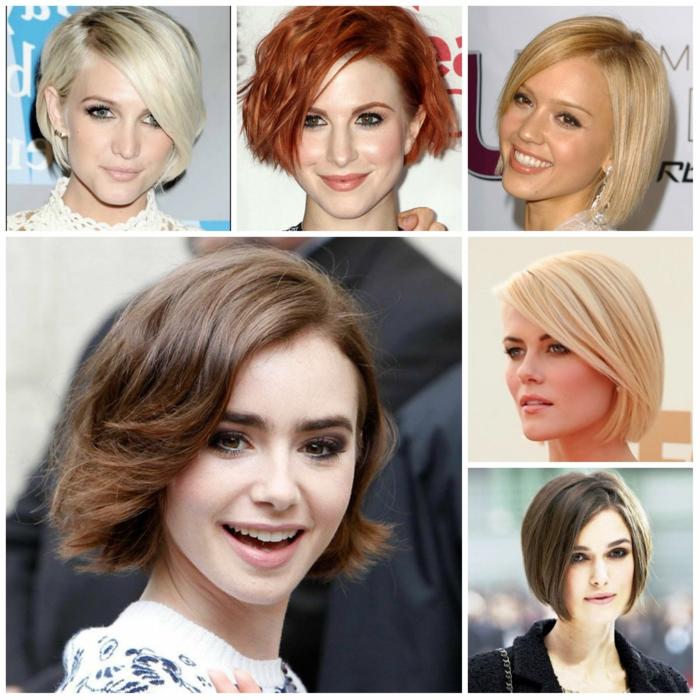 pagenschnitt damen frisuren frauen trend wellig berühmtheiten