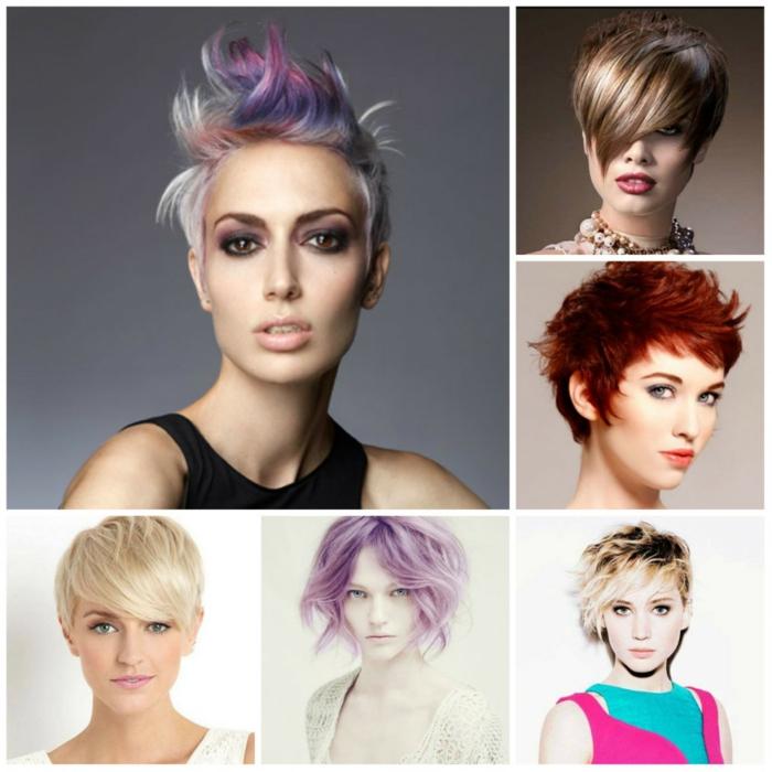pagenschnitt kurzhaarfrisur damen frisuren frauen trend wellig farbtrend