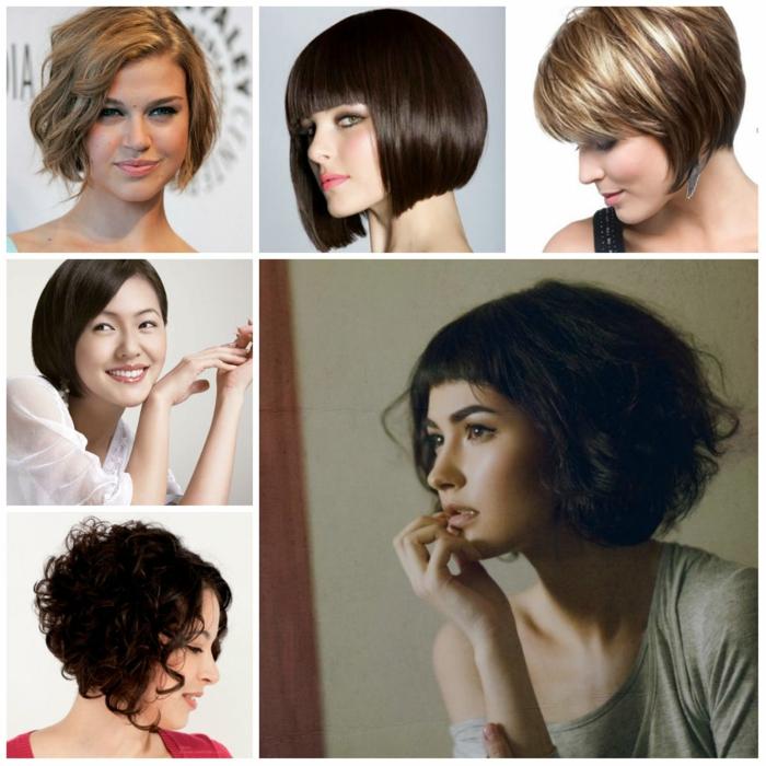 pagenschnitt haarfrisuren damen frisuren frauen trend wellig modisch