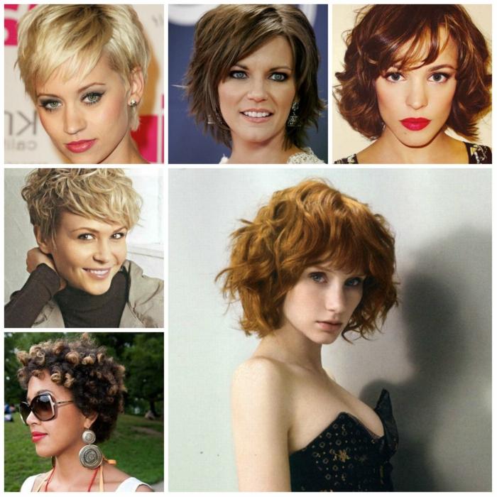 pagenschnitt damen frisuren frauen trend wellig modisch