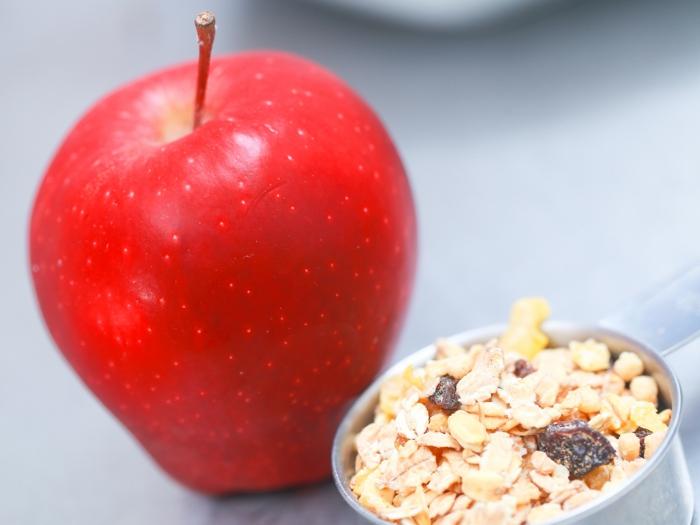 lebe gesund apfel müsli gesundheit