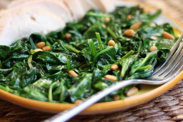 lebe gesund spinat magnesium gesundheit tipps nieren