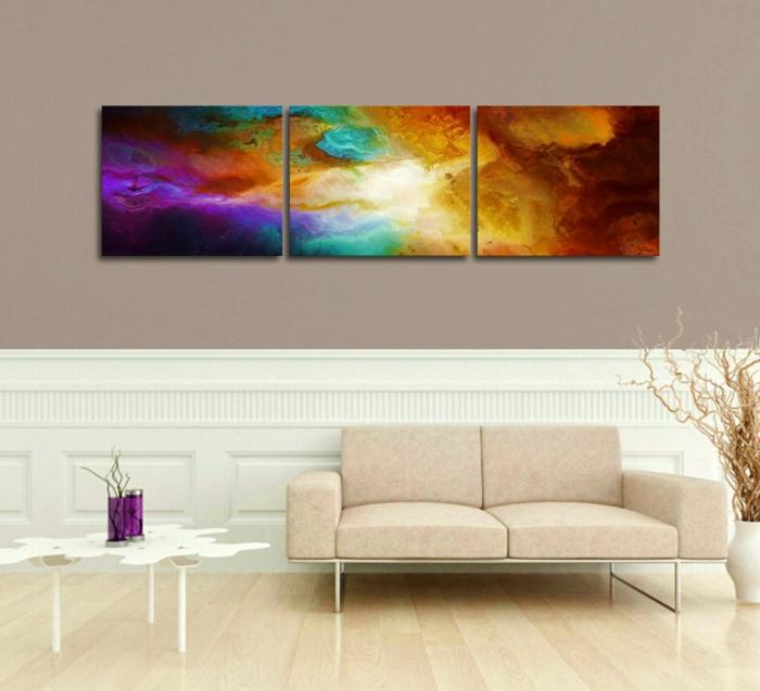 Leinwandbilder Online Bestellen Abstrakte Wandkunst Wohnzimmer Wandgestaltung Wanddekoration