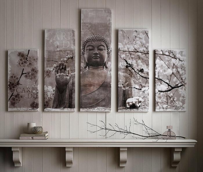 leinwandbilder online bestellen harmonie buddha otto