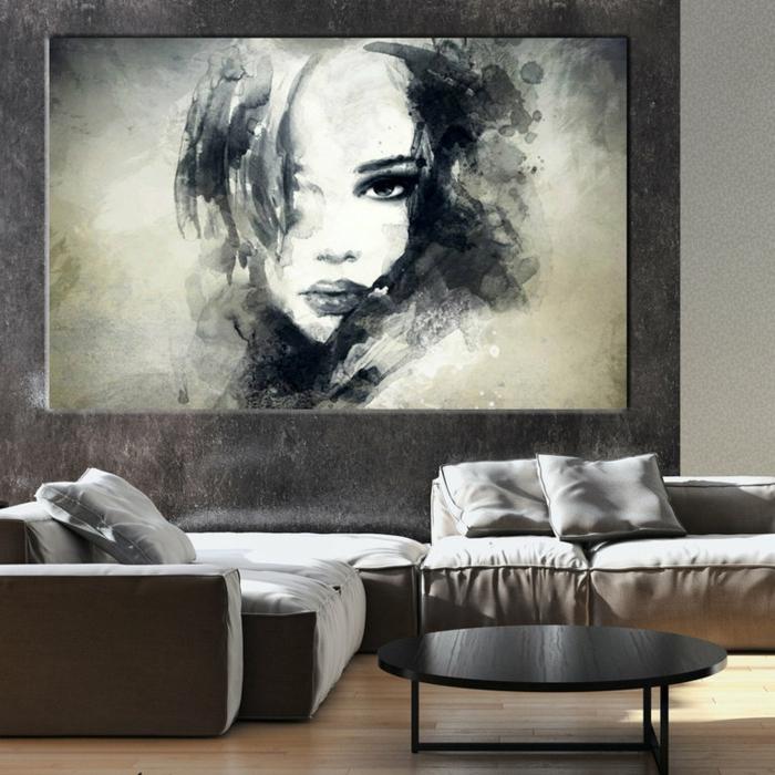 leinwandbilder online bestellen wandkunst frauenporträt artiqueshop
