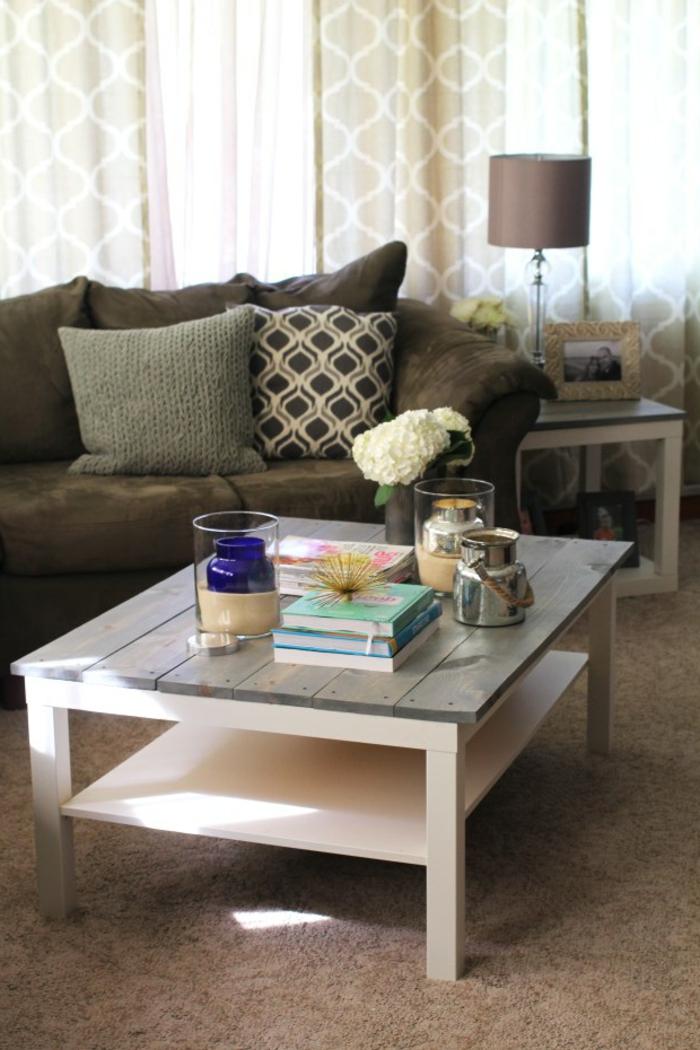 möbel selber bauen kaffeetisch wohnzimmermöbel