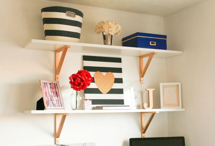 möbel selber bauen regale kreative wohnideen home office