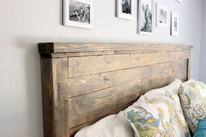 möbel selber bauen wohnideen schlafzimmer bettkopfteil