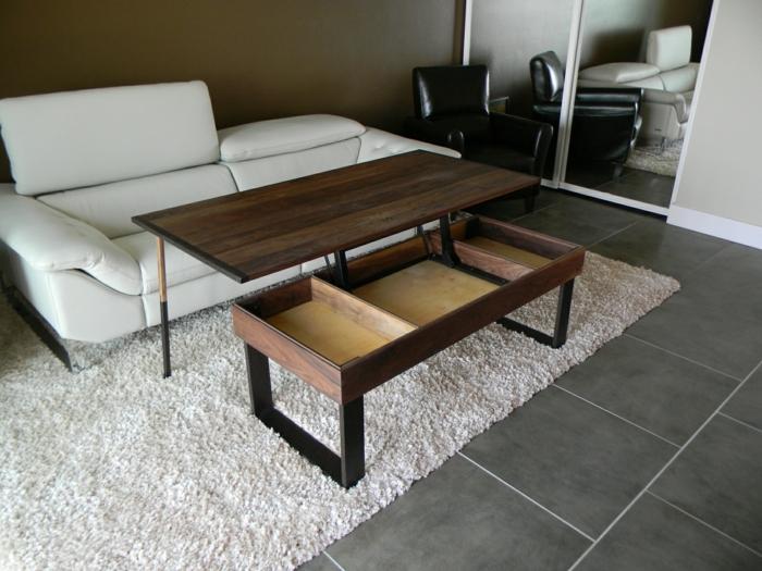 möbel selber bauen wohnideen wohnzimmer couchtisch weißes sofa