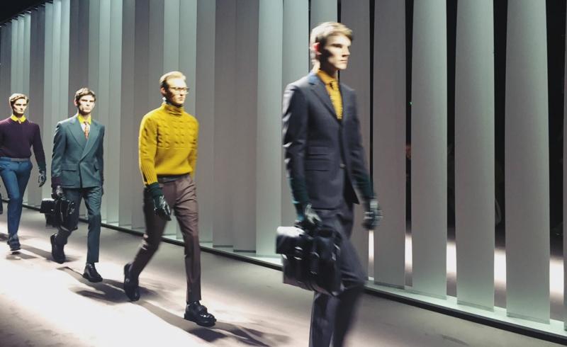 mailand fashion week 2016 männermode trends canalli