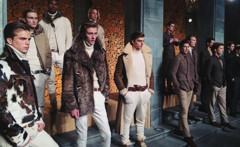 mailand fashion week 2016 männermode trends ralph lauren