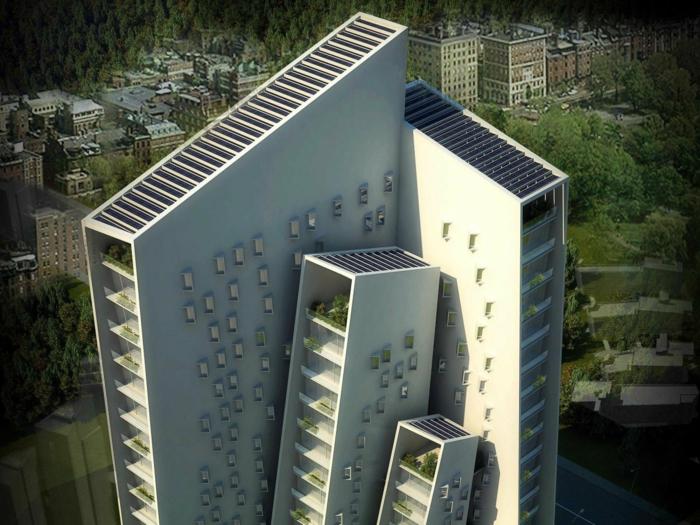 moderne architektur zukunftsansichten museum der zukunft wolkenkratzer licht wagemutig verspielte architektur