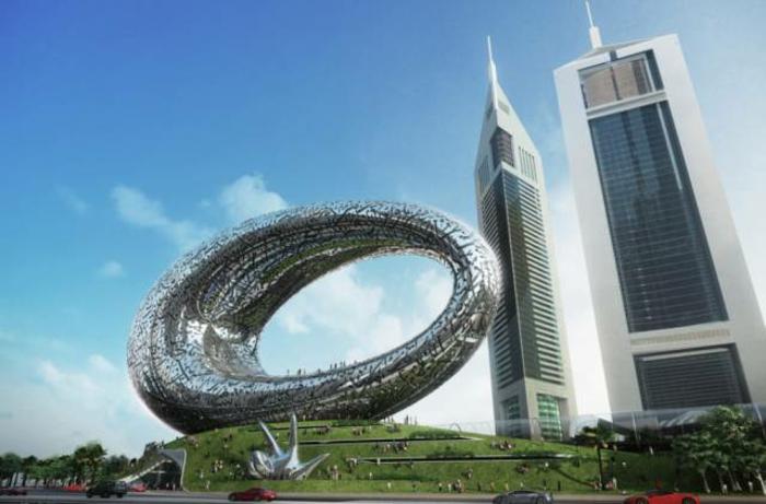 moderne architektur zukunftsansichten museum der zukunft