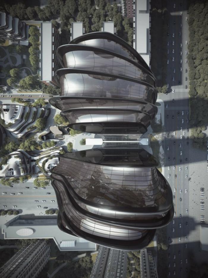 moderne architektur zukunftsansichten