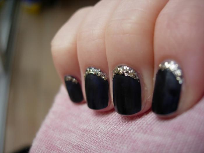 nagellack ideen schwarzer nagellack ideen schönheit