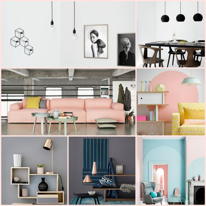 Neue Wohntrends Farben Wohnungseinrichtung Ideen